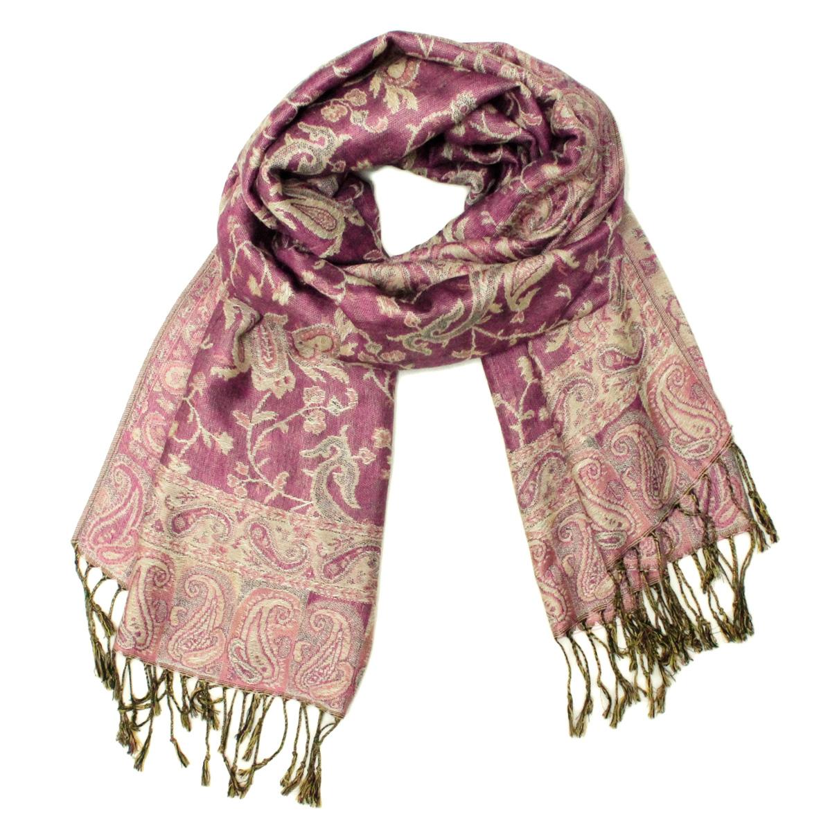 gorgeous paisley pashmina 82322 pink yellow 82322 4
