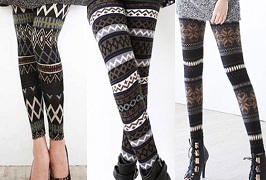 Fashion Pattern Leggings