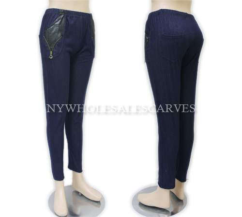 Navy Jeggings U1395
