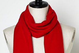 Solid Cashmere feel scarf